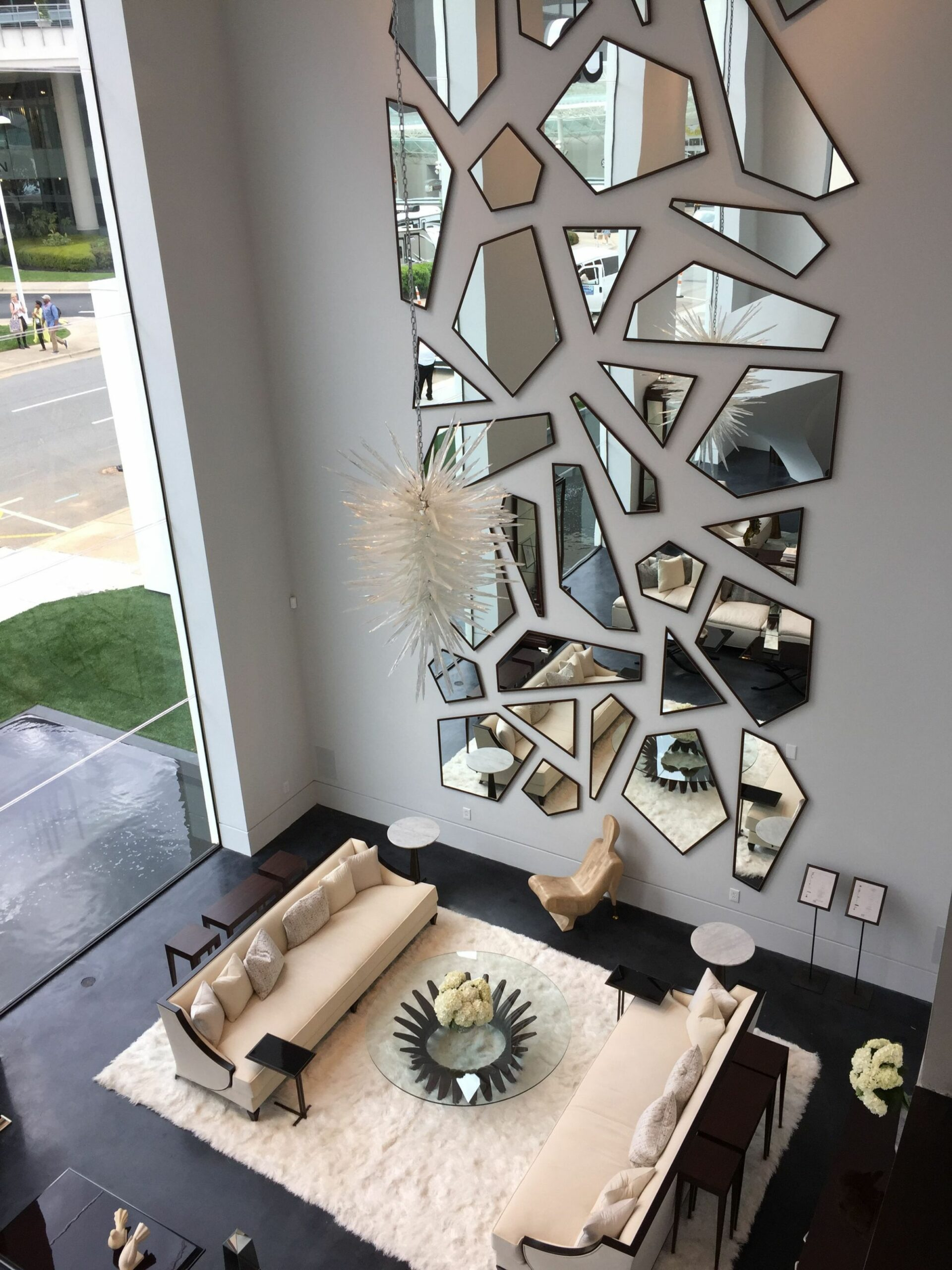 There are different kinds of mirrors. Full length mirrors, wall ..