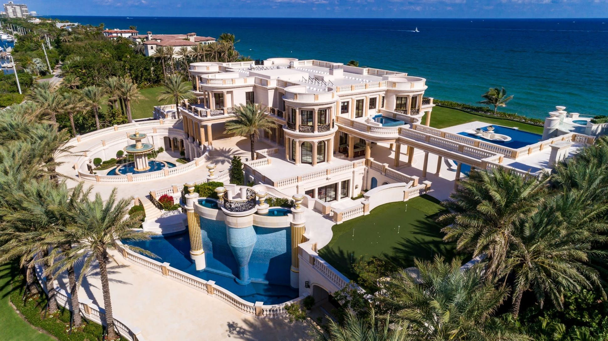 This $10 million Florida mansion is up for auction—take a look inside
