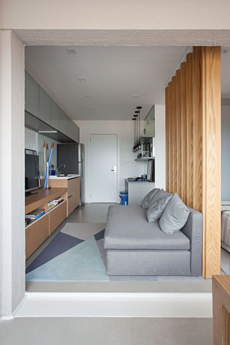 This Small Apartment Makes Efficient Use of Limited Space With ...