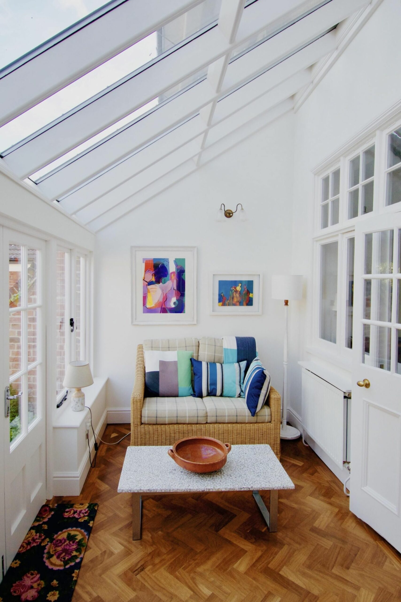 This small sunroom at my Airbnb in England : CozyPlaces | Small ...