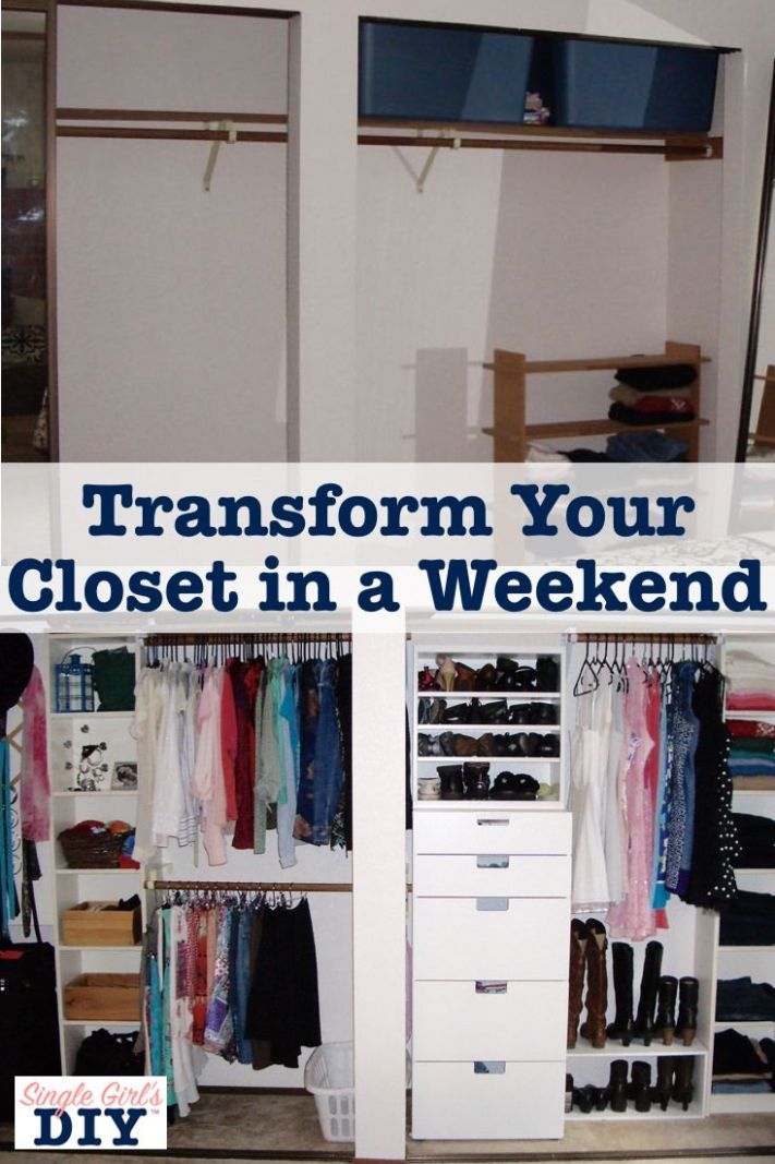 Thrifty Closet Organizing You Can Do in a Weekend | Closet ..