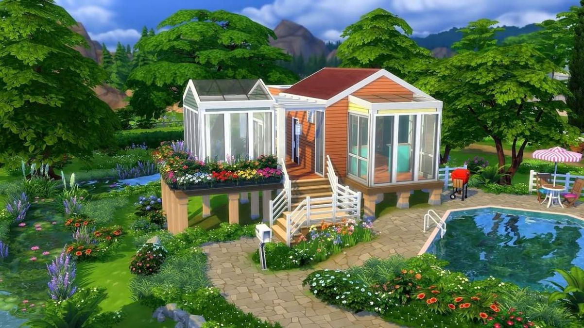 Tiny homes trend coming to The Sims 11 | The Star Online - tiny house sims 4