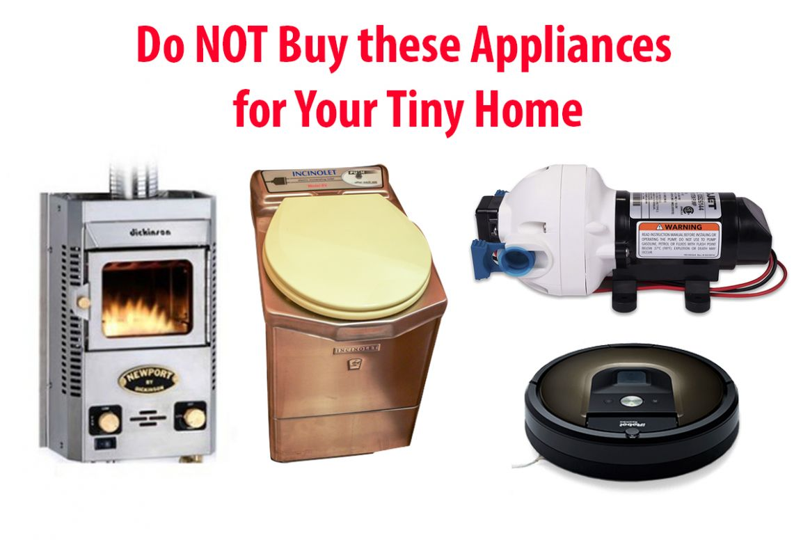 Tiny House Appliances: What NOT to Buy and Why