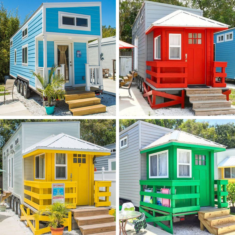 Tiny House Beach Resort is the Ultimate Coastal Living on a Budget ...