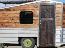 Tiny house built on old boat trailer can 'expand' - Curbed