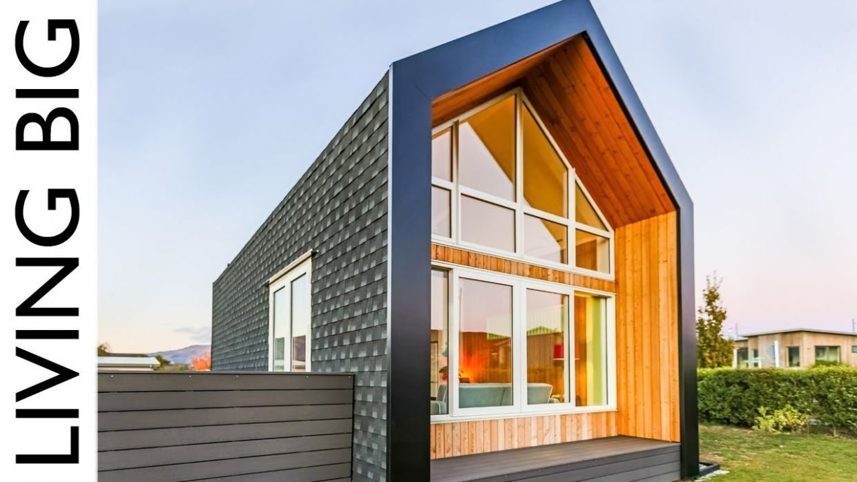 Tiny House Concept Adapted Into Amazing Modern Home - tiny house europe