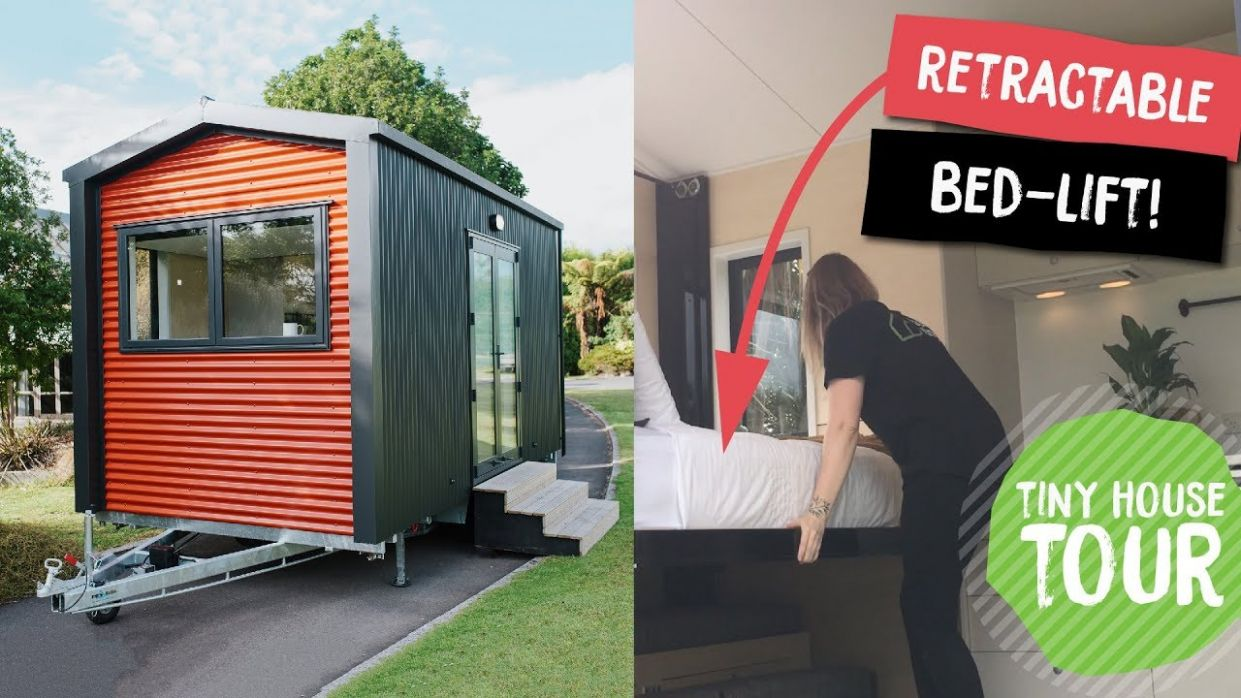 Tiny house from New Zealand is actually almost tiny | TreeHugger - tiny house essentials