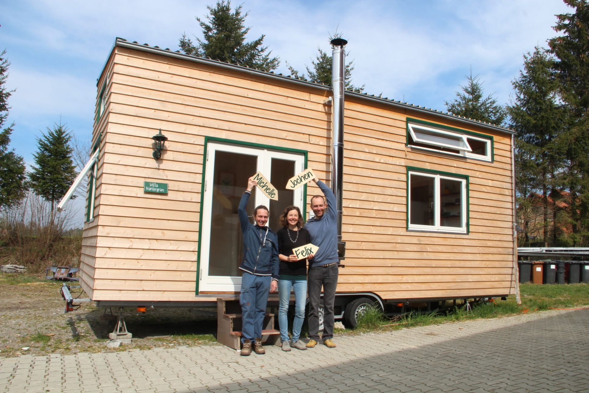 Tiny House Gemeinschaft am Bodensee – Concection
