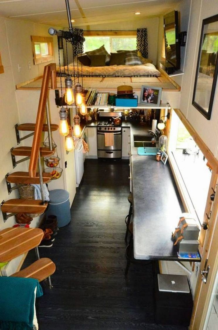 Tiny House Hacks- Modern And Larger Look (11) | Kleines haus ...