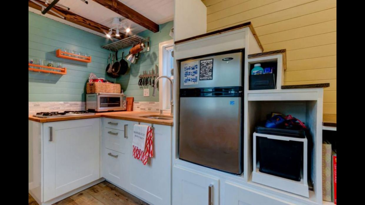 Tiny House Kitchen Appliances - YouTube