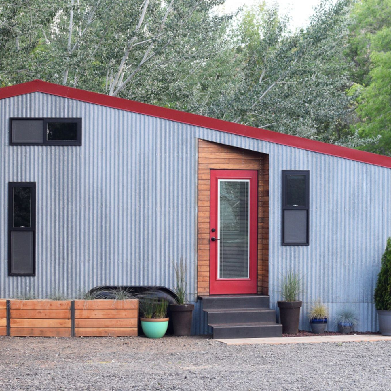 Tiny house makes room for outdoor gear—and a baby - Curbed - tiny house shed