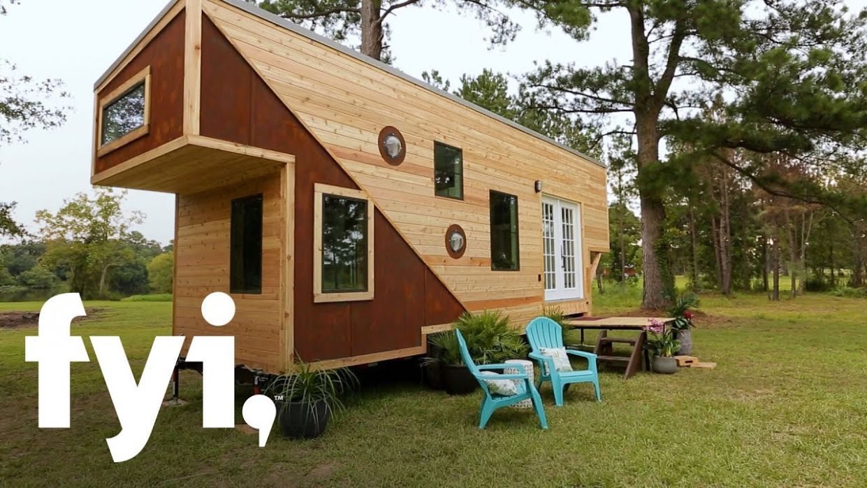 Tiny House Nation: An Emotional Tiny House Reveal (Season 10, Episode 10) |  FYI - tiny house nation episodes