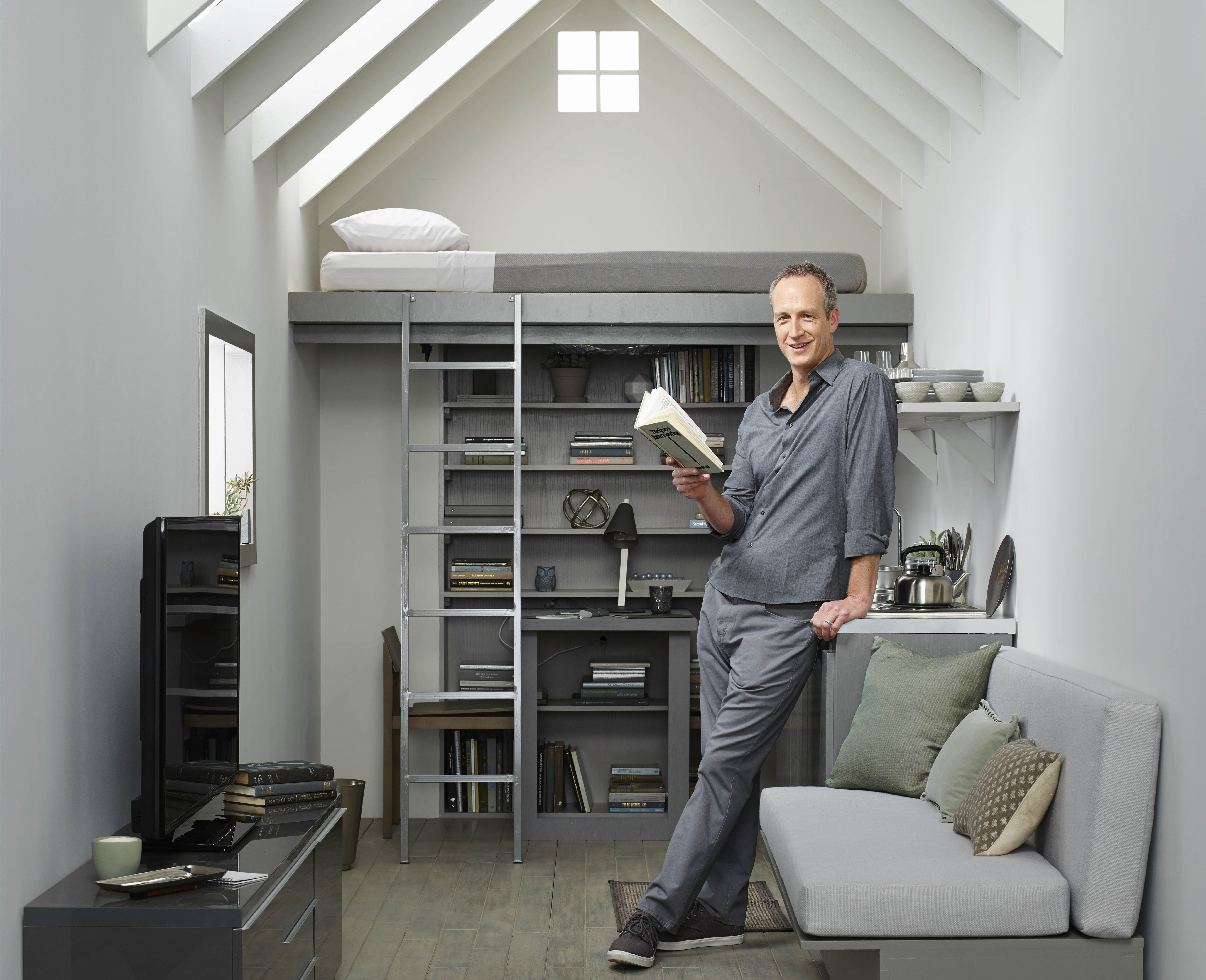 """Tiny House Nation"""" host John Weisbarth on living large in a ..."""