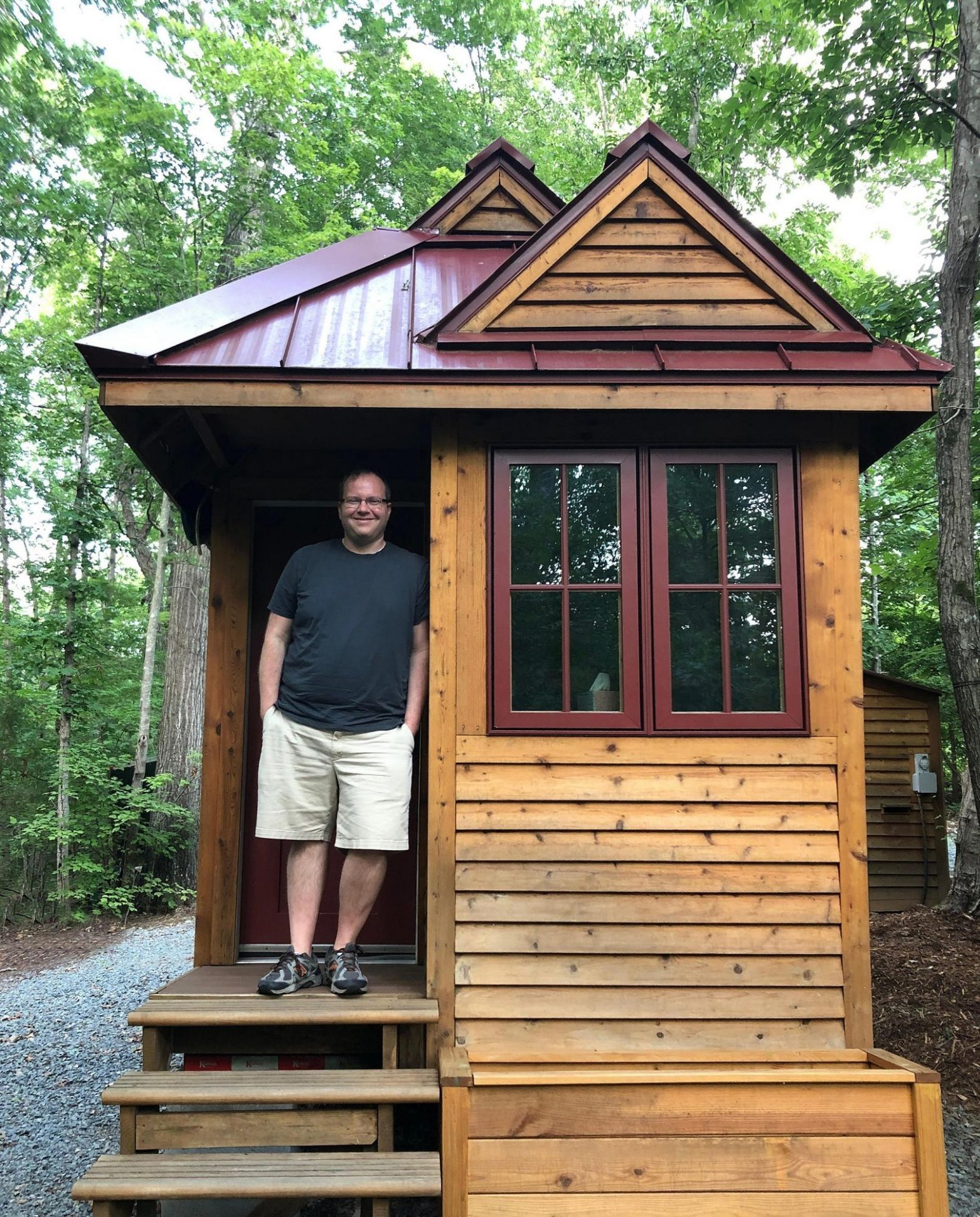 Tiny House Owner Saves $11,11, Plans to Retire at 11 | PEOPLE