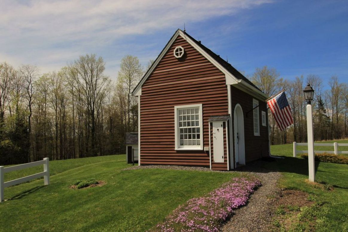 Tiny house perched on 12 acres of land asks $12K - Curbed - tiny house land for sale