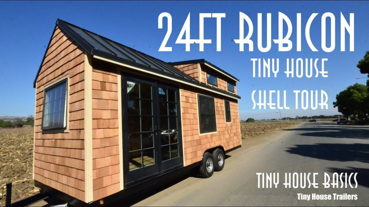 Tiny House Shell Kit on Wheels - tiny house shell