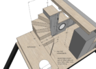 tiny house stairs dimensions - Google Search | Tiny house stairs ...