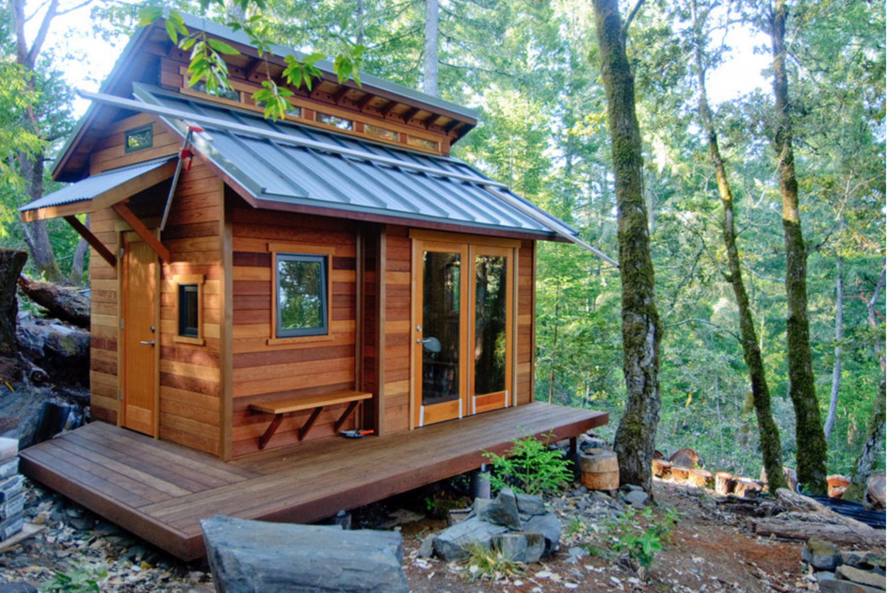 Tiny House Style - Roost In Green