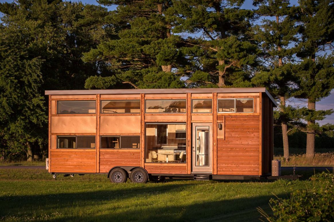 Tiny house with full-size appliances can sleep 10 - Curbed