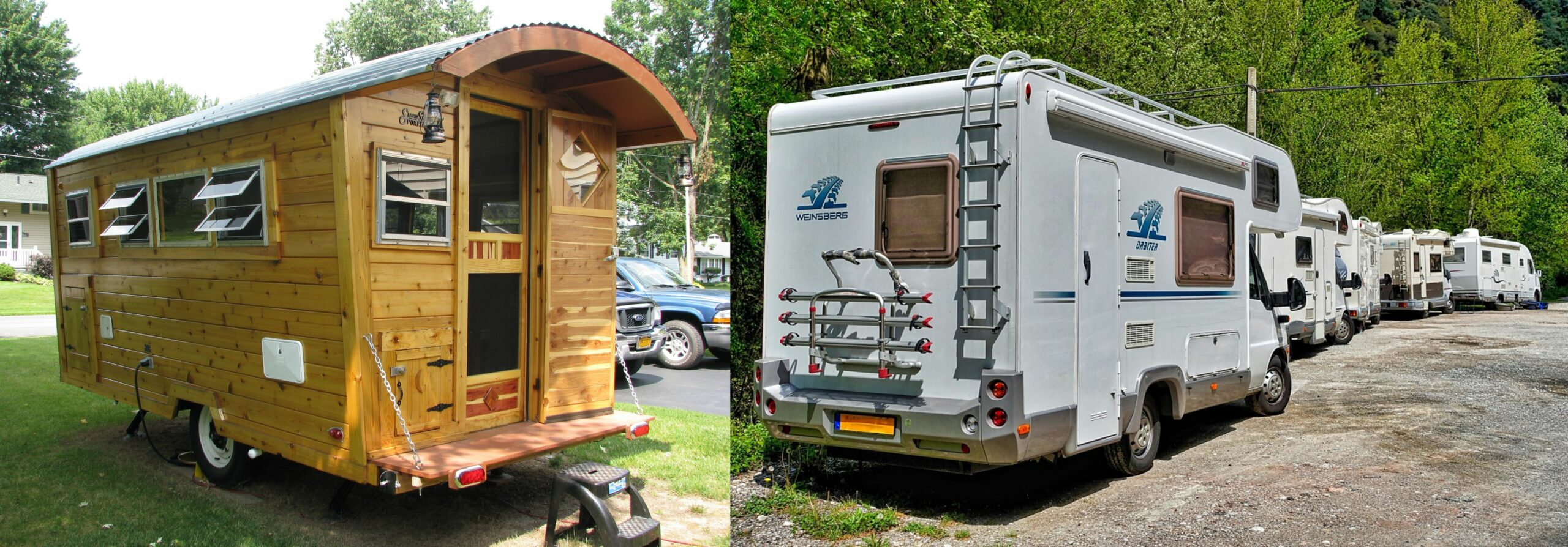 Tiny Houses on Trailer vs RVs: Which is Better? - Tiny Living - tiny house vs rv