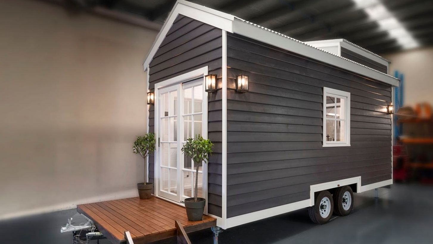 Tiny houses to go under the hammer in Melbourne for the first time - tiny house melbourne
