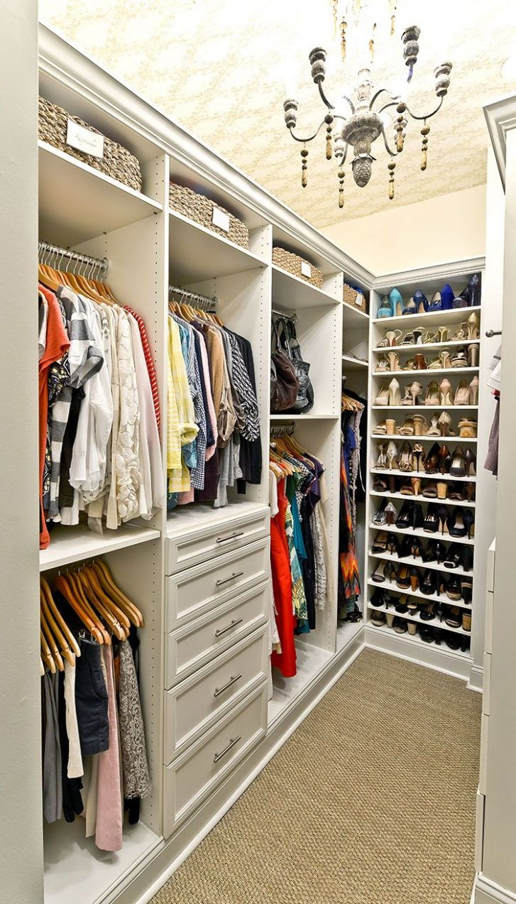 Tips And Organization Ideas For Your Closet   Bedroom closet ...