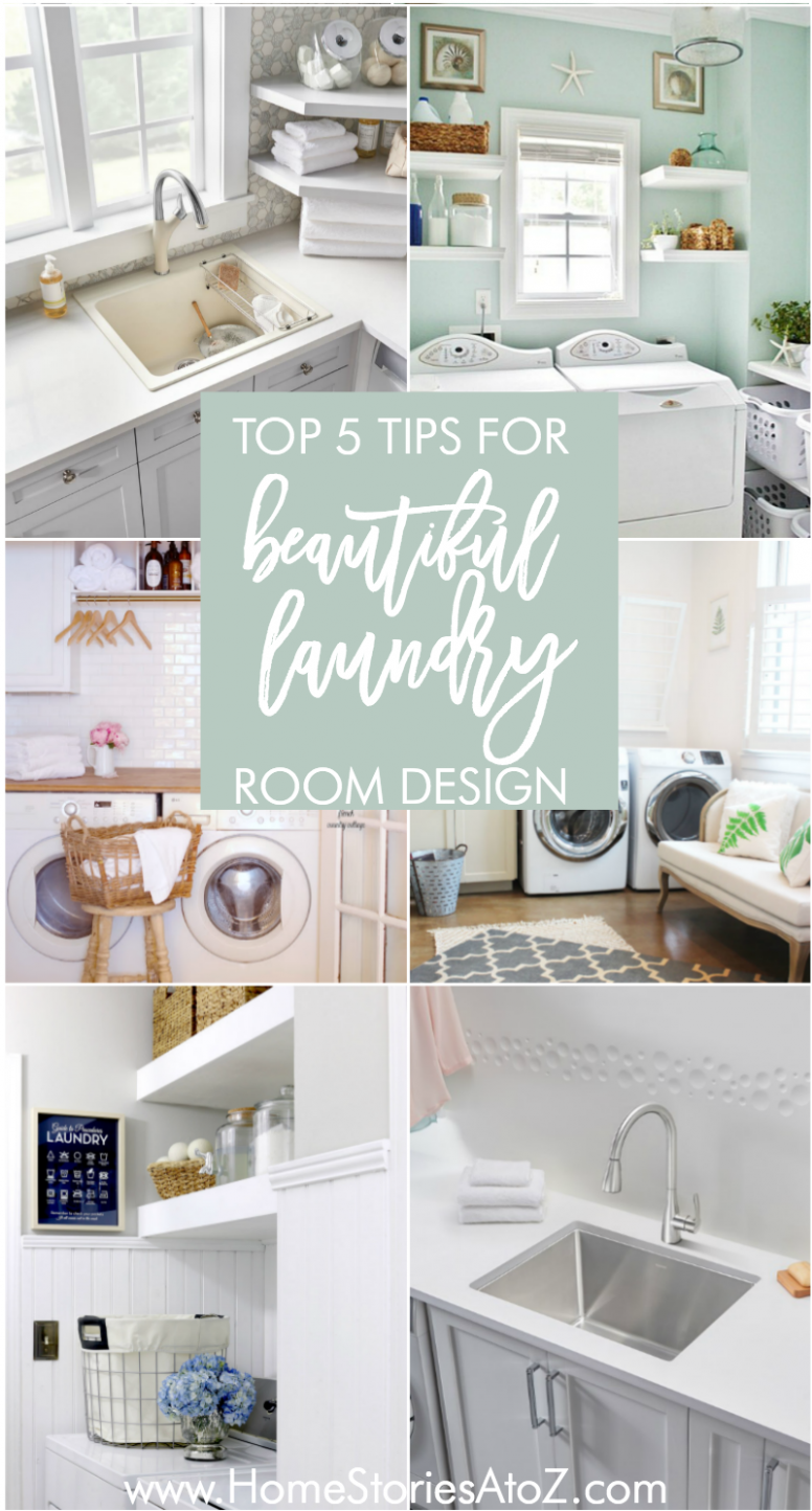 Top 10 Tips for Designing an Efficient and Beautiful Laundry Room - efficient laundry room ideas