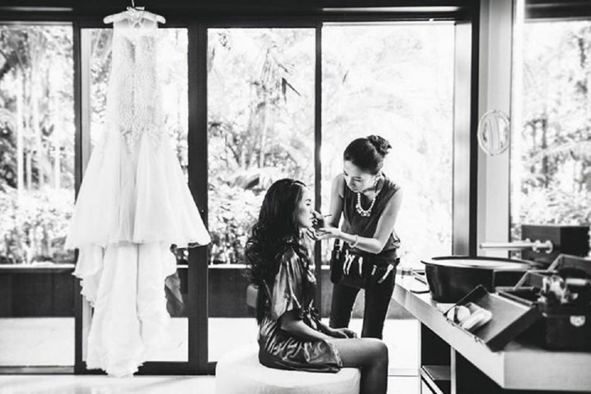 Top 11 Wedding Makeup and Hair Stylists in Singapore   The Wedding Vow - makeup room singapore