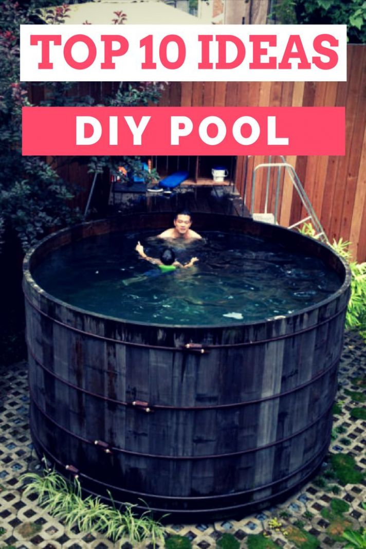 Top 12 DIY Pool Ideas and Tips - 1201 Gardens - pool ideas diy