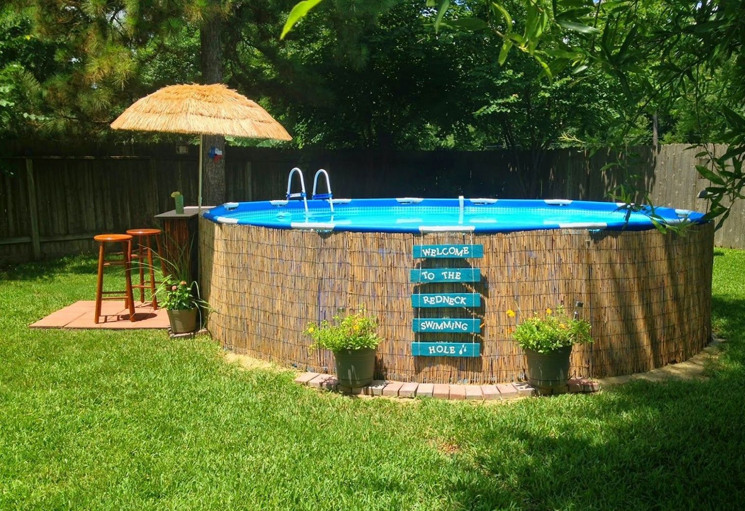 Top 9 Diy Above Ground Pool Ideas On A Budget | Oberirdische ...