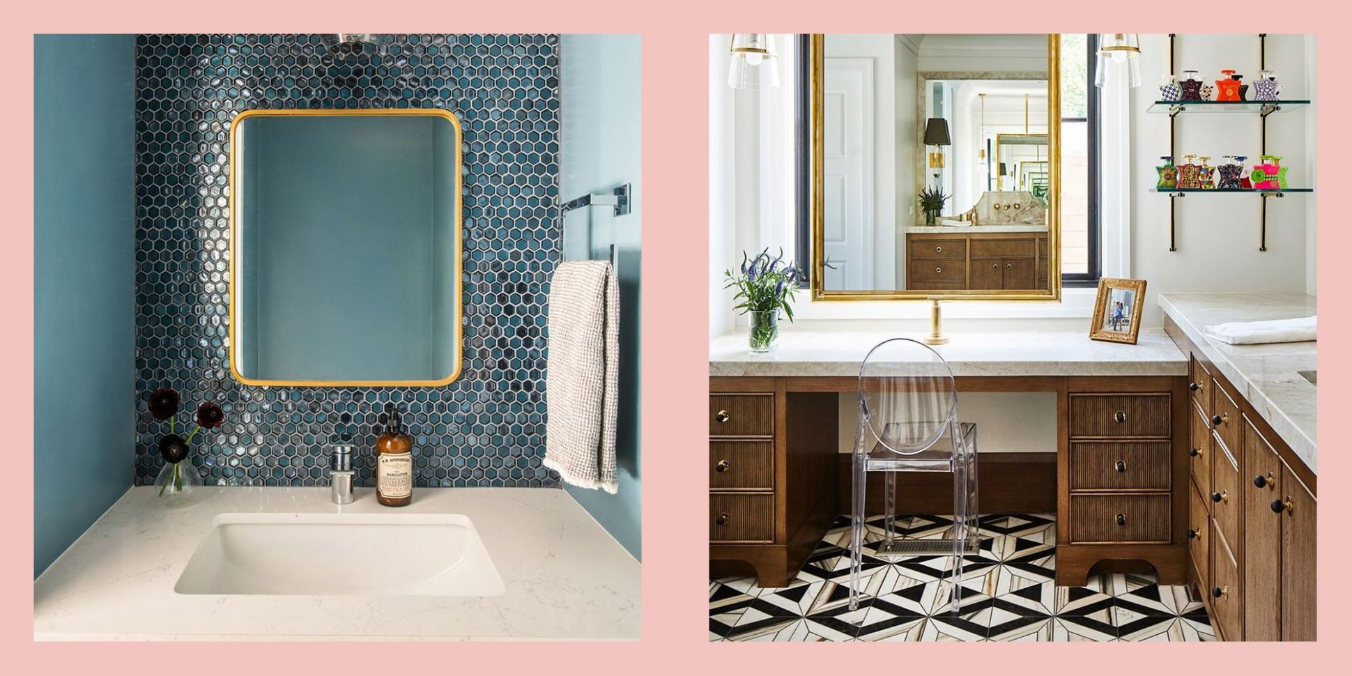 Top Bathroom Trends of 11 - What Bathroom Styles Are In - bathroom ideas elle decor