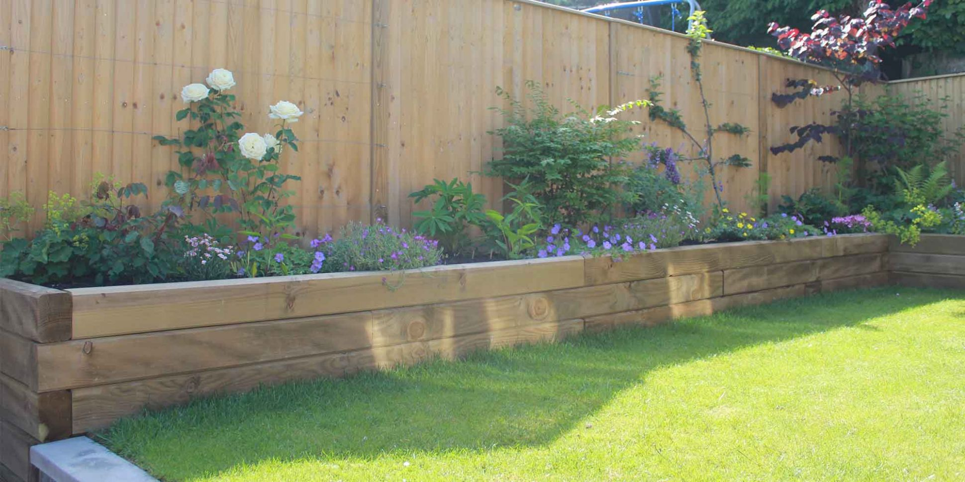 Top Tips | Raised Garden Bed Ideas (10) | Jacksons Fencing - garden ideas with sleepers