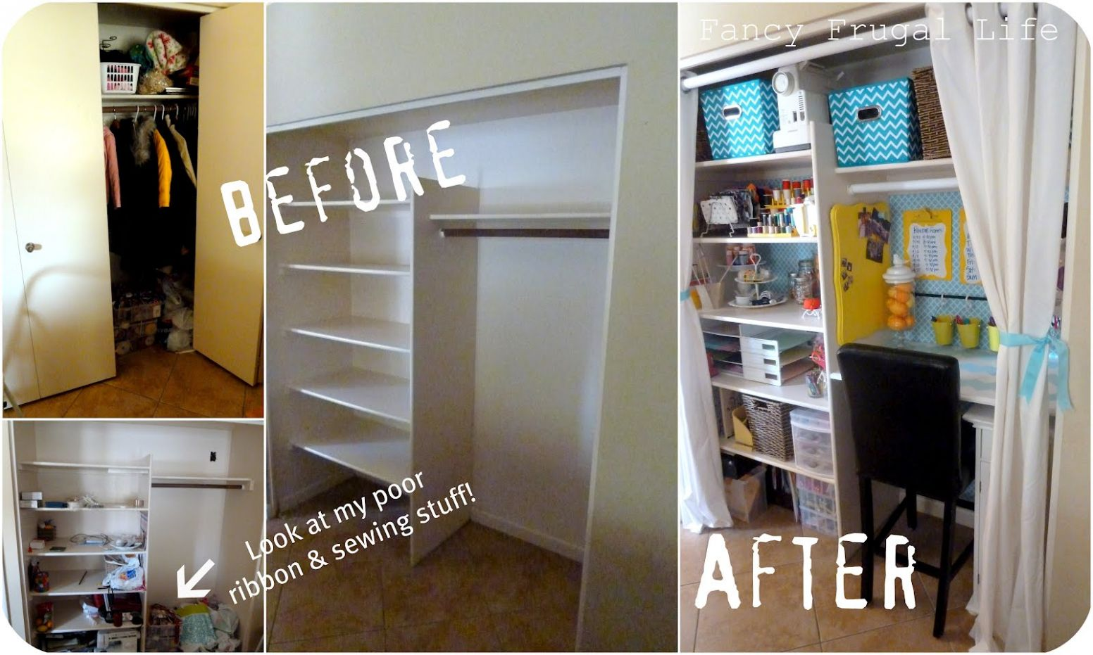 Transform and Reorganize Your Unused Closet And Think Outside The Box! - closet transformation ideas