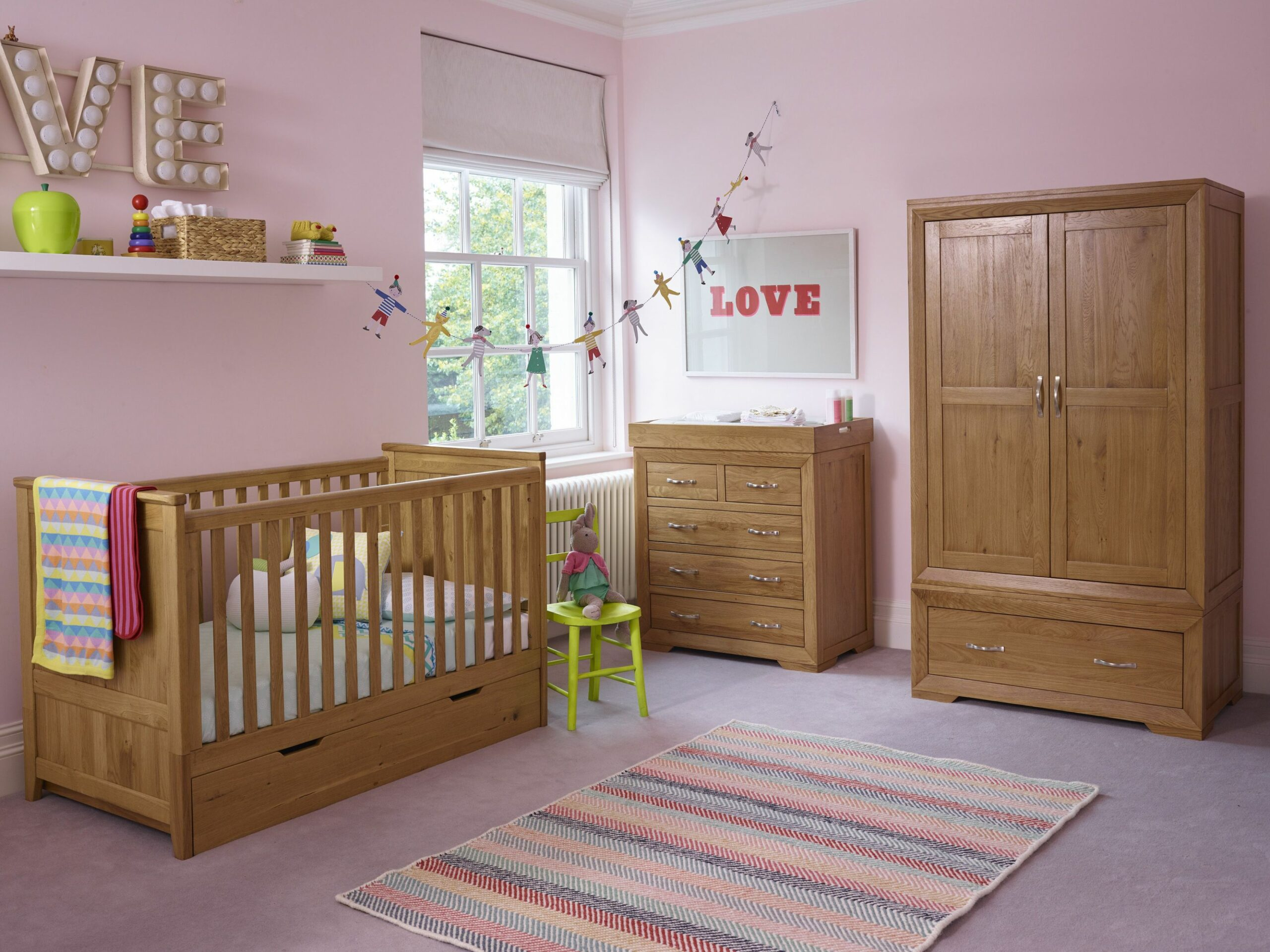 Transform your baby's nursery to a child's bedroom with our ...