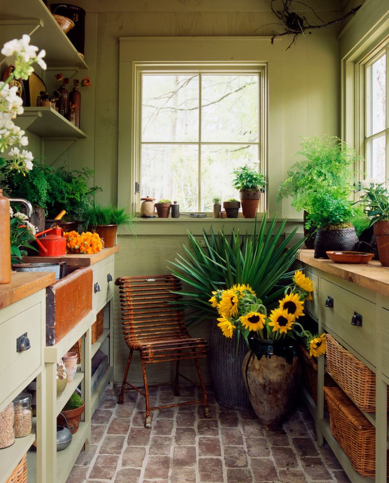 Transform Your Sunroom into Your Own Winter Garden ..