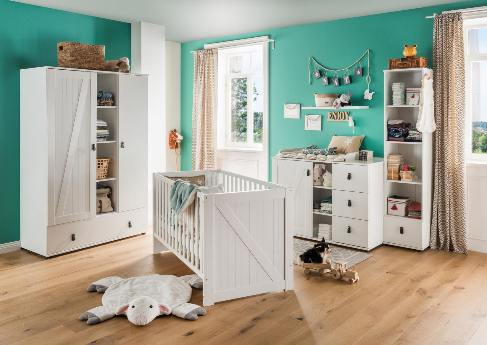 Trelleborg Baby Room - Moebel Design Studio - baby room flooring