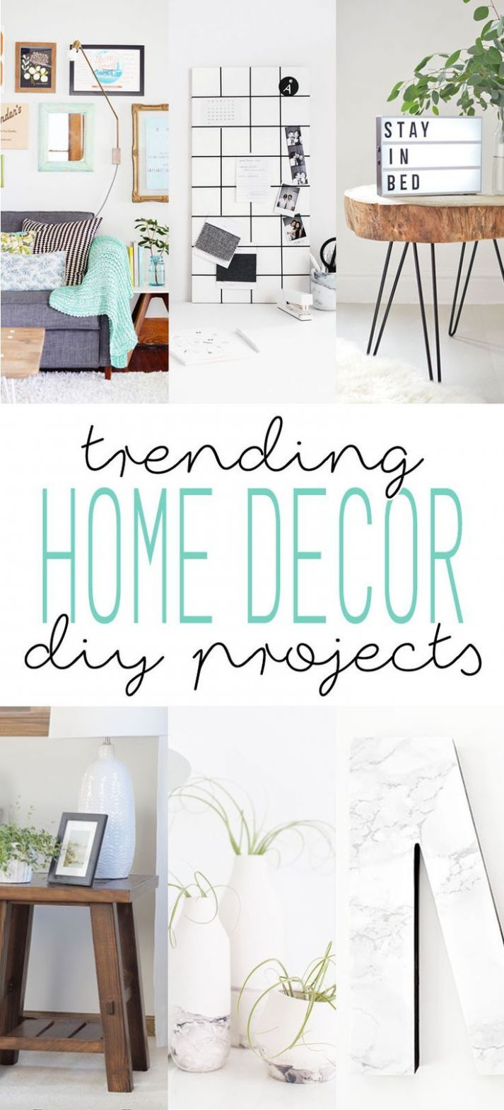 Trending Home Decor DIY Projects | Home decor, Home decor trends, Home - diy home decor room