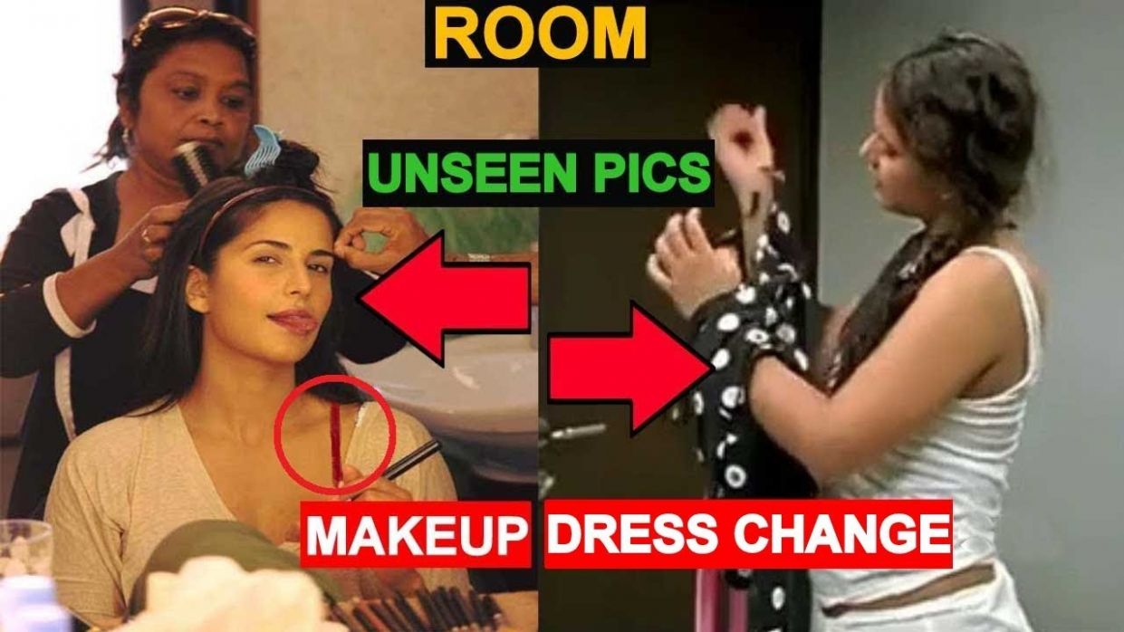 Trial Room/Makeup Room/Changing Room | Bollywood Actress Makeup ...
