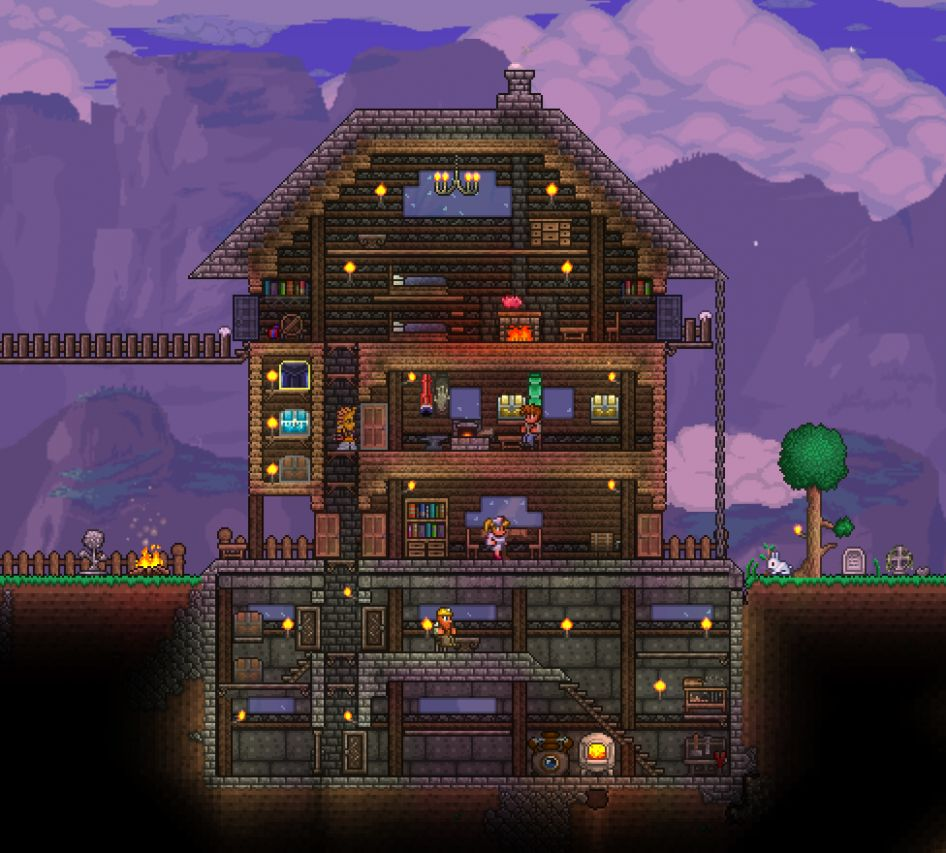 Tried my hand at a decorative house, got my inspiration from ...
