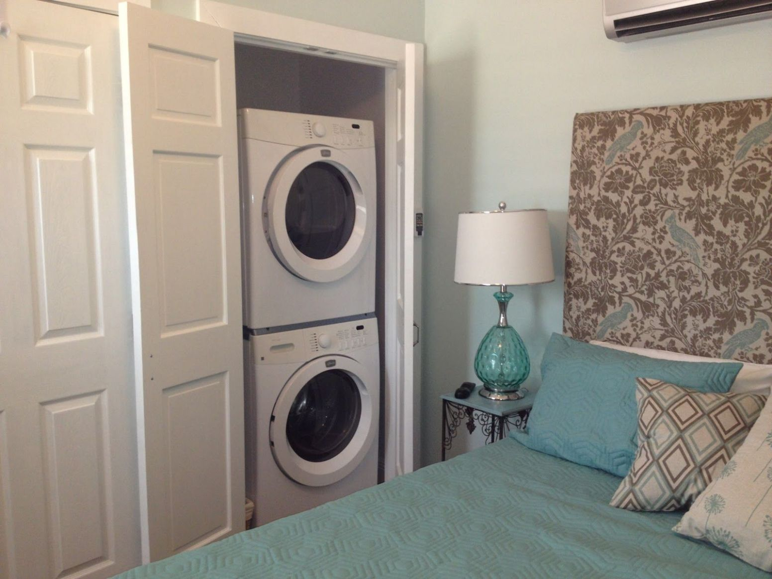 Twice as Nice! | Laundry room storage, Small laundry rooms ..