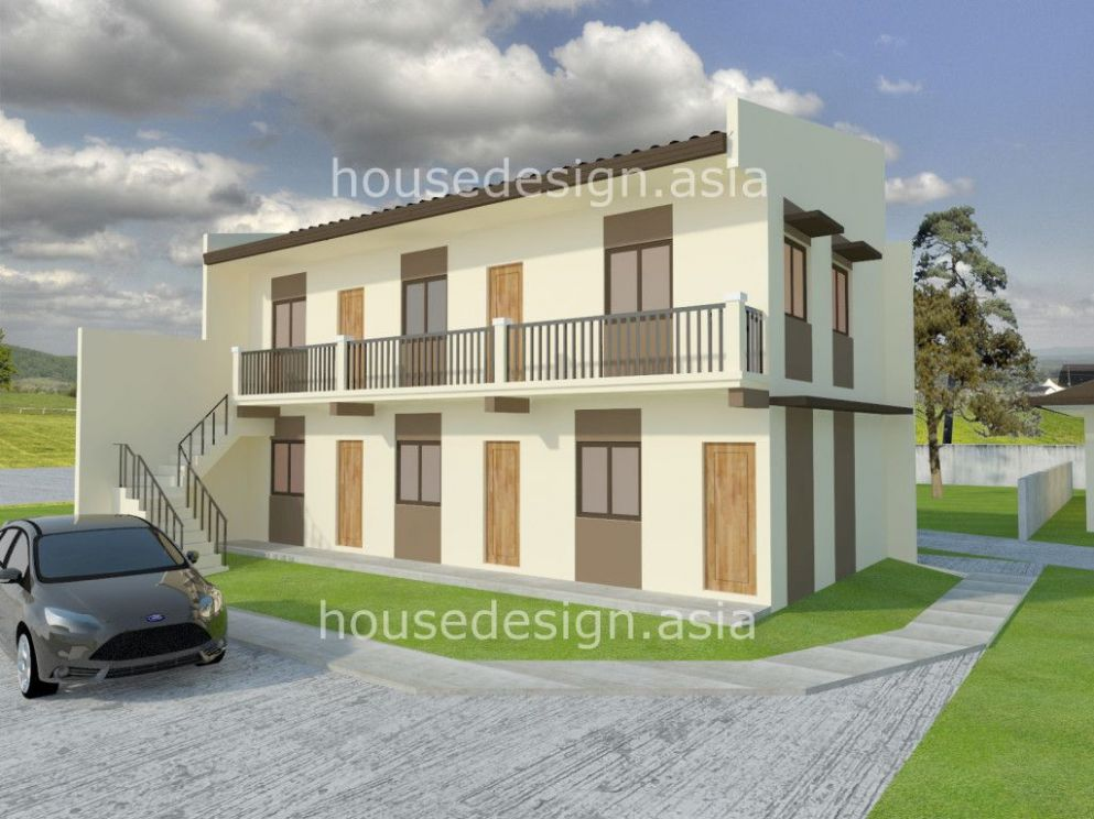 Two Story Apartment With 11 units | Apartments exterior, Small ...