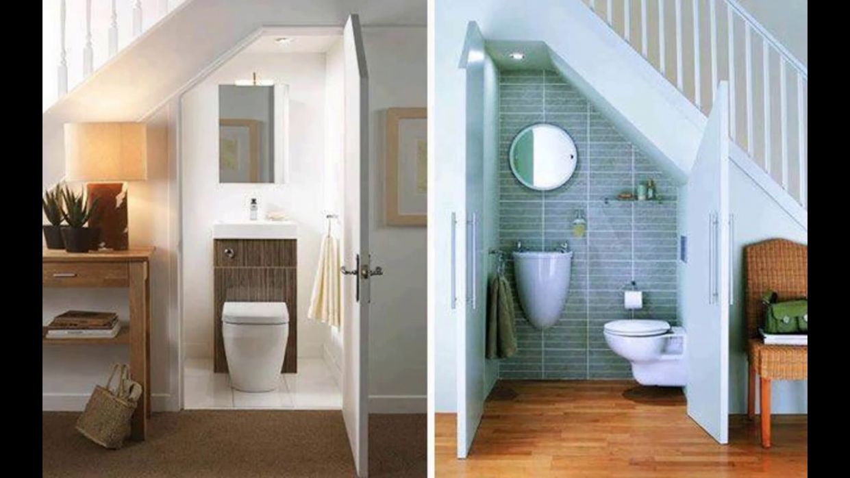 Under Stair Bathroom 9 Ideas - bathroom ideas under stairs