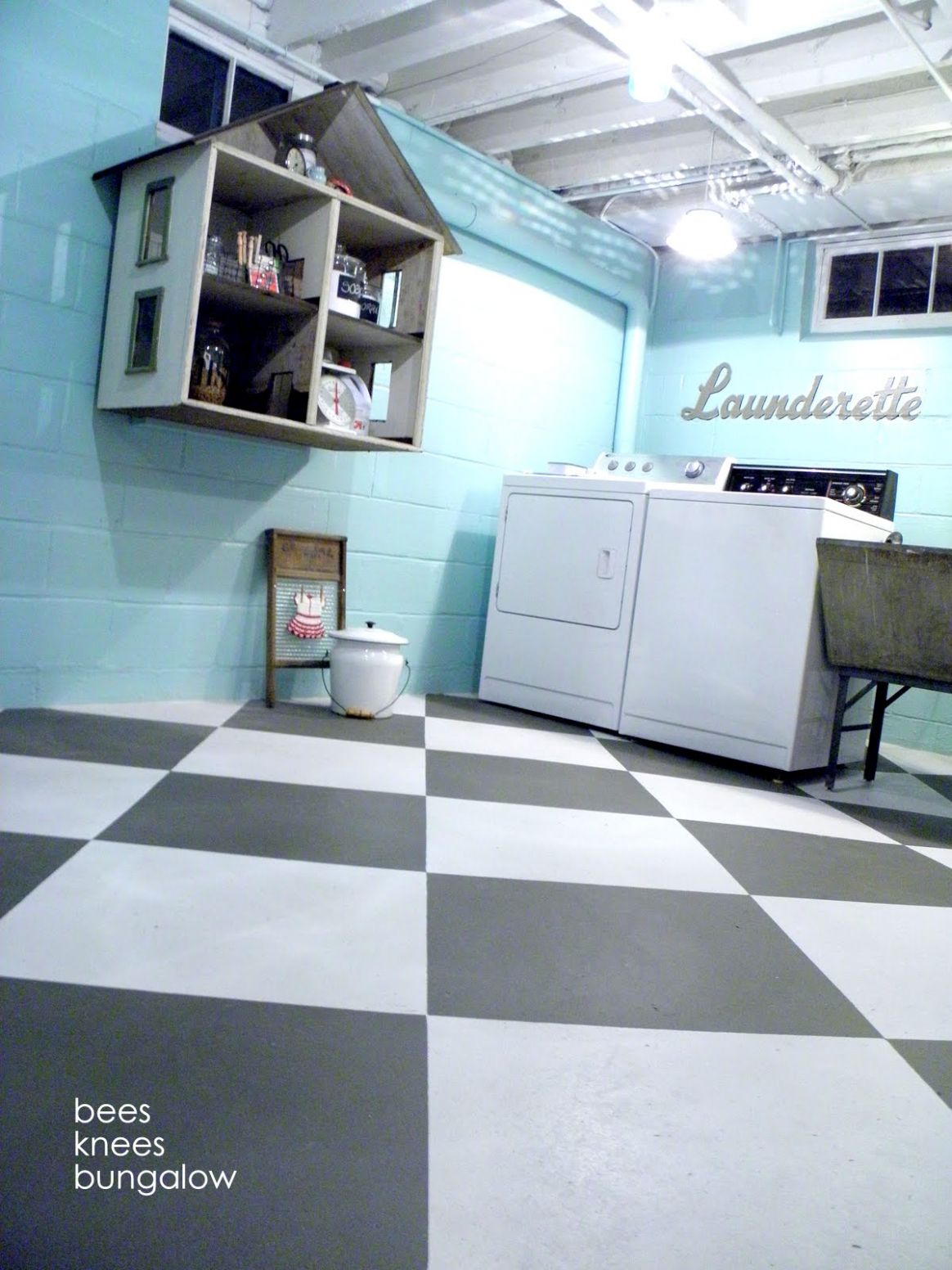 Unfinished Basement Laundry Room Ideas April 8 - Toolversed
