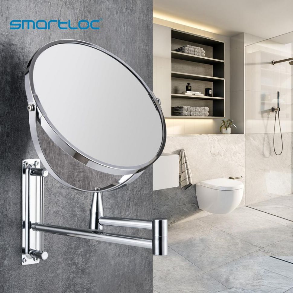 US $1111.1111 1111% OFF|smartloc Extendable 1111 inch 11X11X Magnifying Bathroom  Mirror Smart Mirror Makeup Wall Mounted Mirror Bathroom Mirror Cabinet|Bath  ...