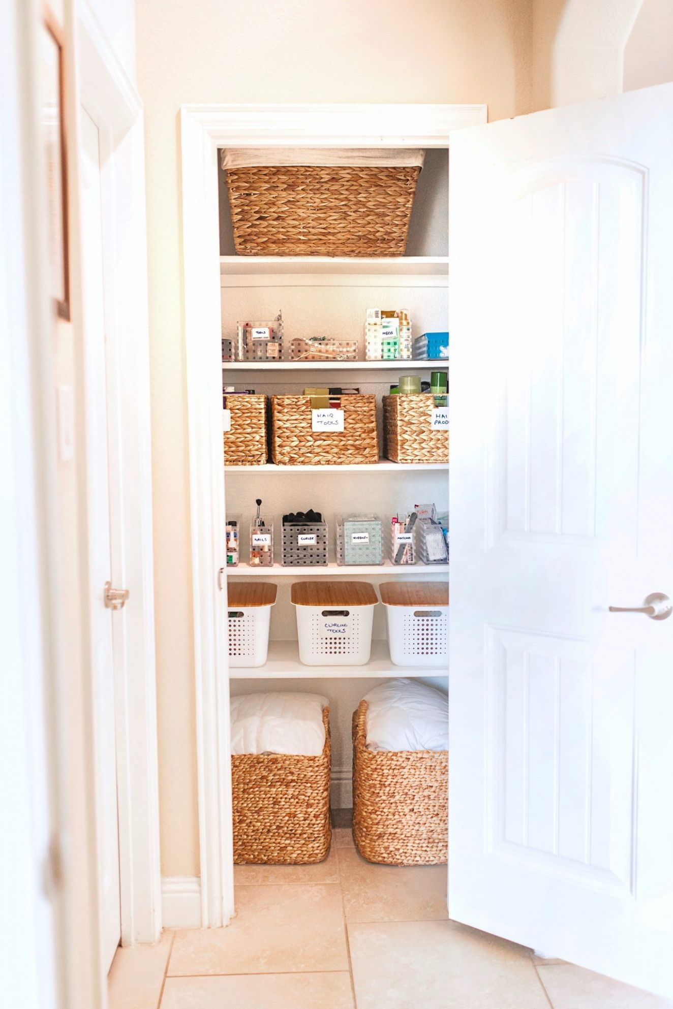 Useful Bathroom Closet Organization Ideas | Home | Glamorous ..