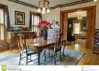Victorian Dining Room With Pocket Doors Editorial Stock Photo ...