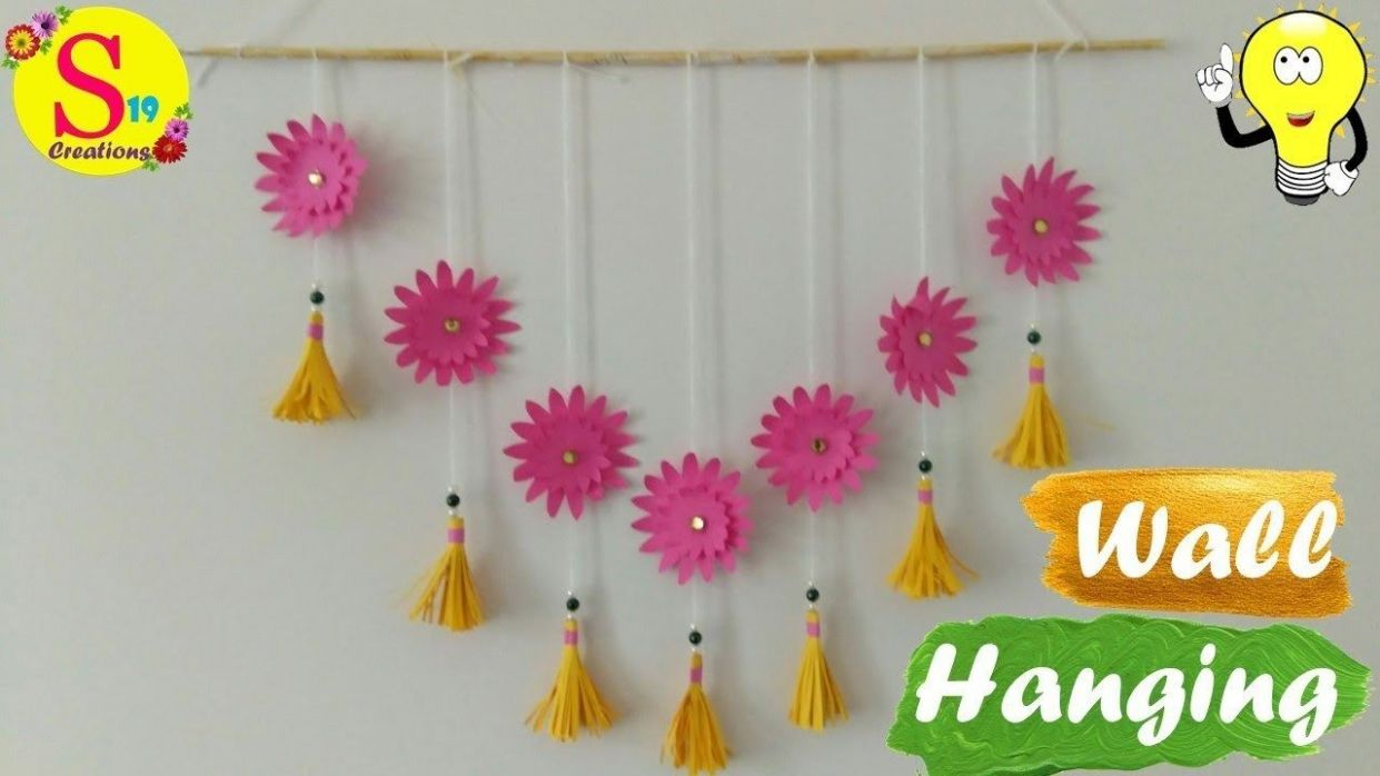 VIDEO Easy wall decor ideas with paper