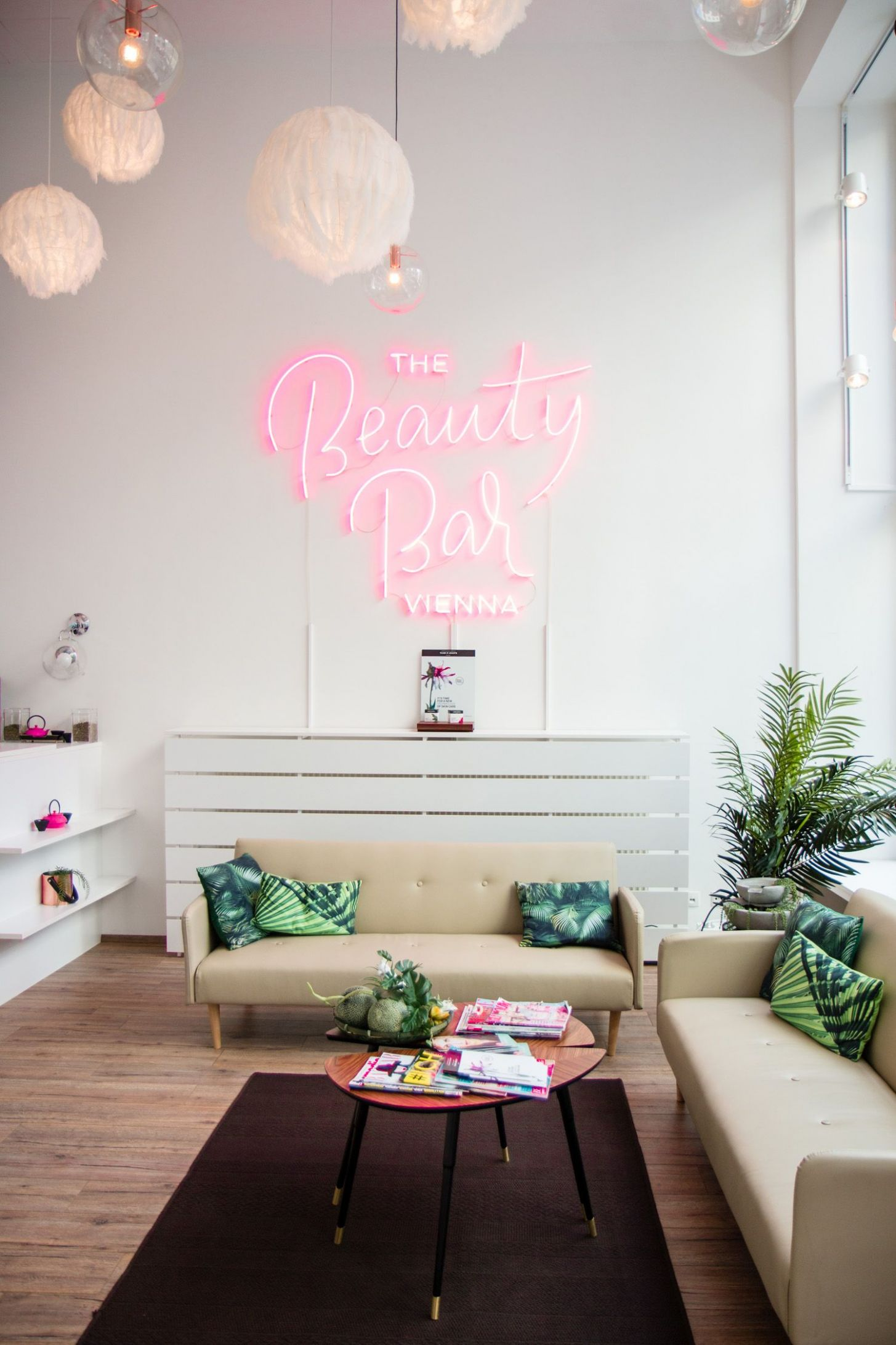 Vienna Picks: The Beauty Bar | Beauty room, Salon decor - makeup room names