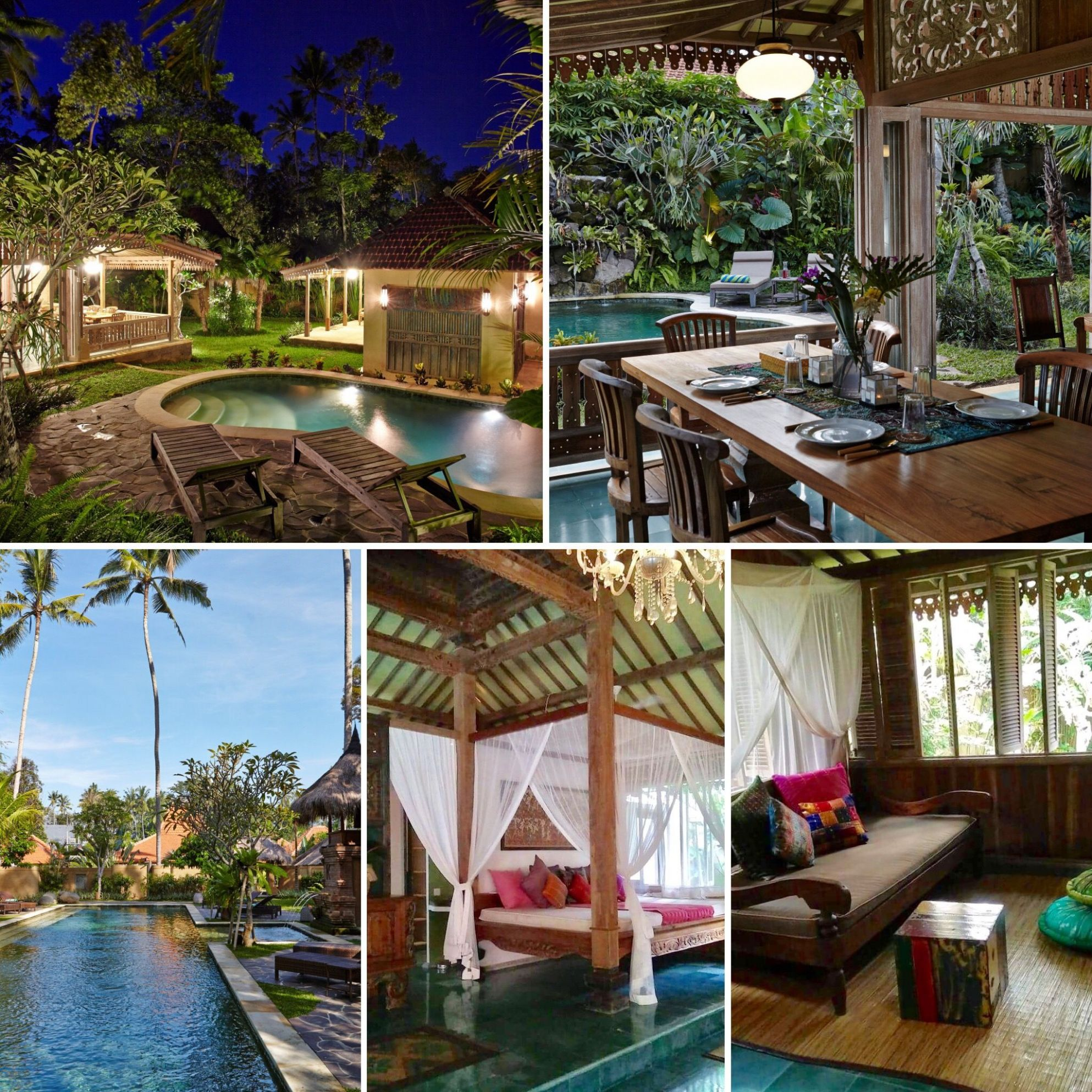 Villa Achintya, Ubud | Ubud, Outdoor bed, Outdoor decor - home decor ubud