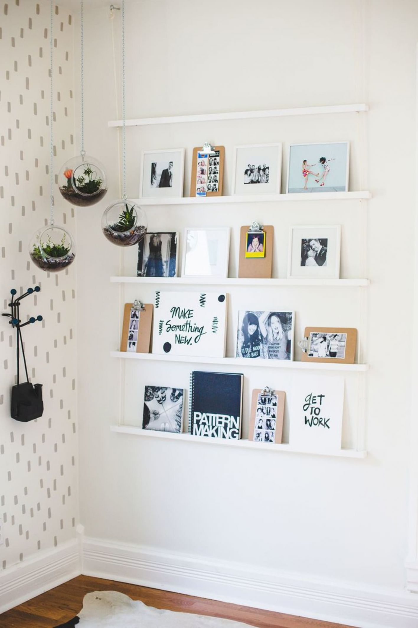 Wall Decor Ideas - 12 Things to Try at Home   Apartment Therapy - wall decoration ideas no nails